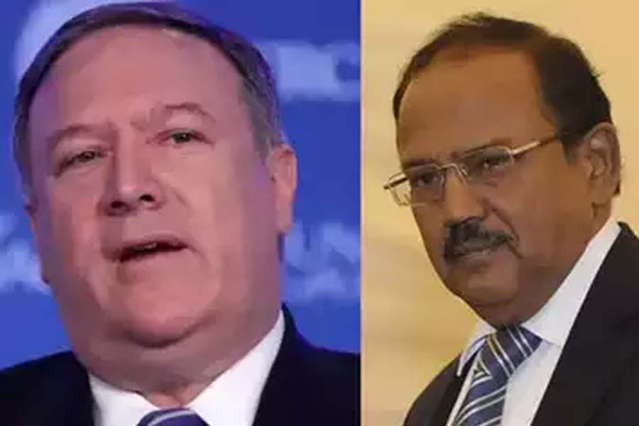 Doval talked to the US Secretary of State