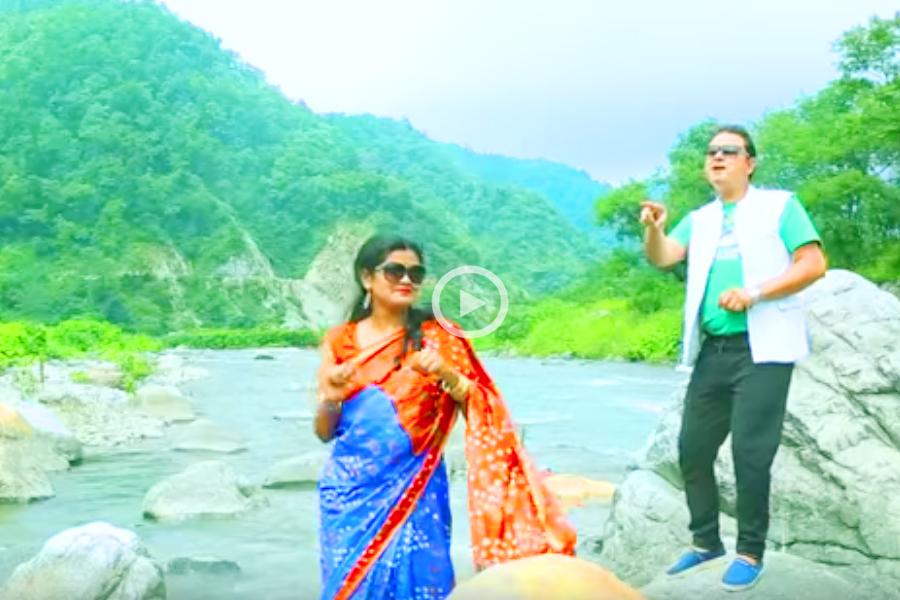 """गजेंद्र राणा का नया गीत """" स्याली भानुमती """" यूट्यूब में रिलीज ,आप भी देखें"""