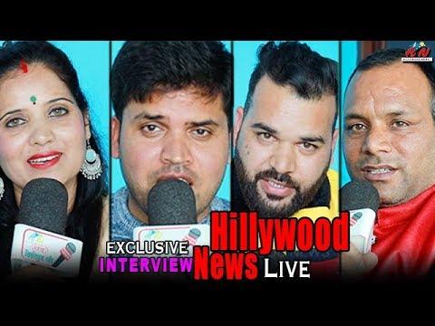 Sahab Singh Ramola & Akanksha Ramola, Arjun tanwar Full Interview Live | Hillywood News Show