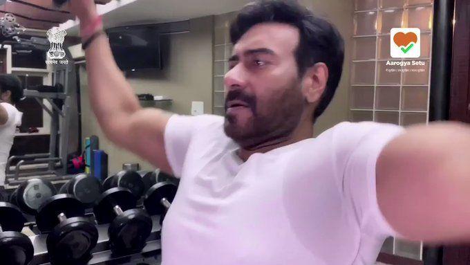 Ajay Devgan becomes bodyguard to fight Corona virus