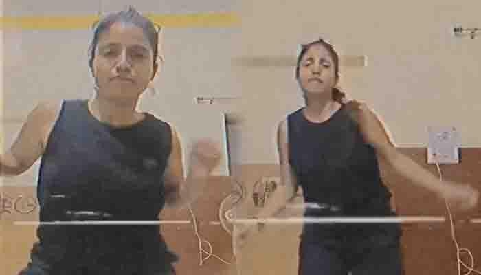 Priyanka Meher का डांस वीडियो सोशल मीडिया पर हुआ वायरल, दिखा हॉट अंदाज।