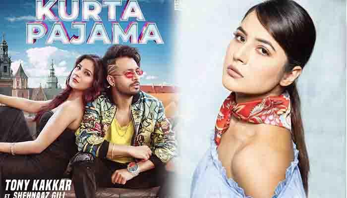 Shehnaaz Kaur Gill का नया गाना 'Kurta Pajama' हुआ रिलीज़, गाने में दिखा स्वैग।