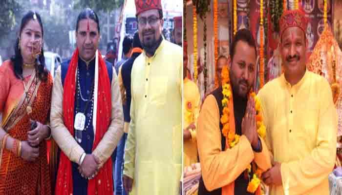 दिल्ली में मां धारी देवी डोली यात्रा कार्यक्रम का हुआ आयोजन, बालकृष्ण थपलियाल समेत कार्यकर्ता रहे मौजूद।