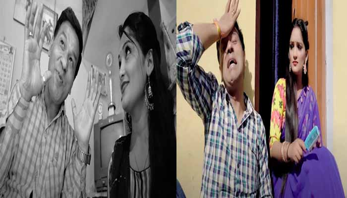 pannu-gusai-and-mini-uniyal-seen-in-fashion-ko-bhoot-videothe-audience-said-wow-this-is-the-real-acting