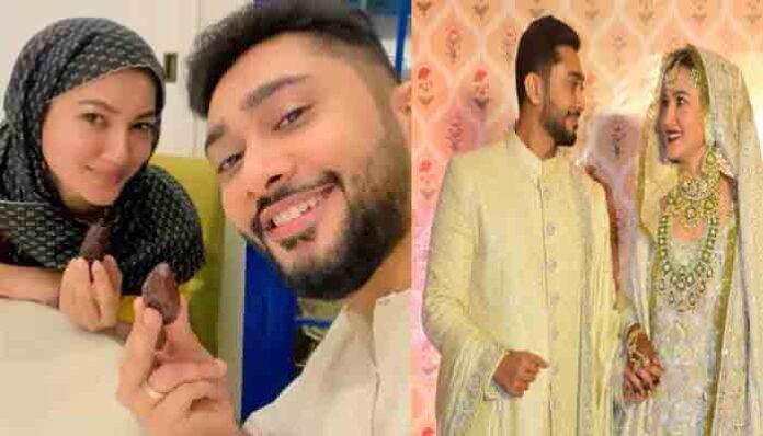 एक्ट्रेस गौहर खान ने निकाह के बाद सेलिब्रेट किया पहला रमजान, सोशल मीडिया पर फोटो वायरल।