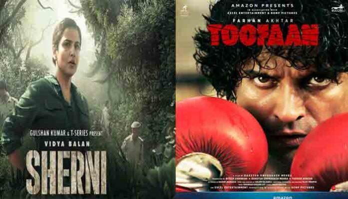 विद्या बालन की फिल्म Sherni समेते कई फिल्में OTT पर रिलीज, जानें कौन-कौन सी हैं फिल्में।