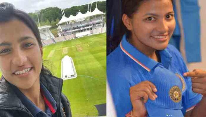 Sneh Rana ने इंग्लैंड में सीरीज शुरू होने से पहले किया पिता को याद,उत्तराखंड से रखती हैं वास्ता।