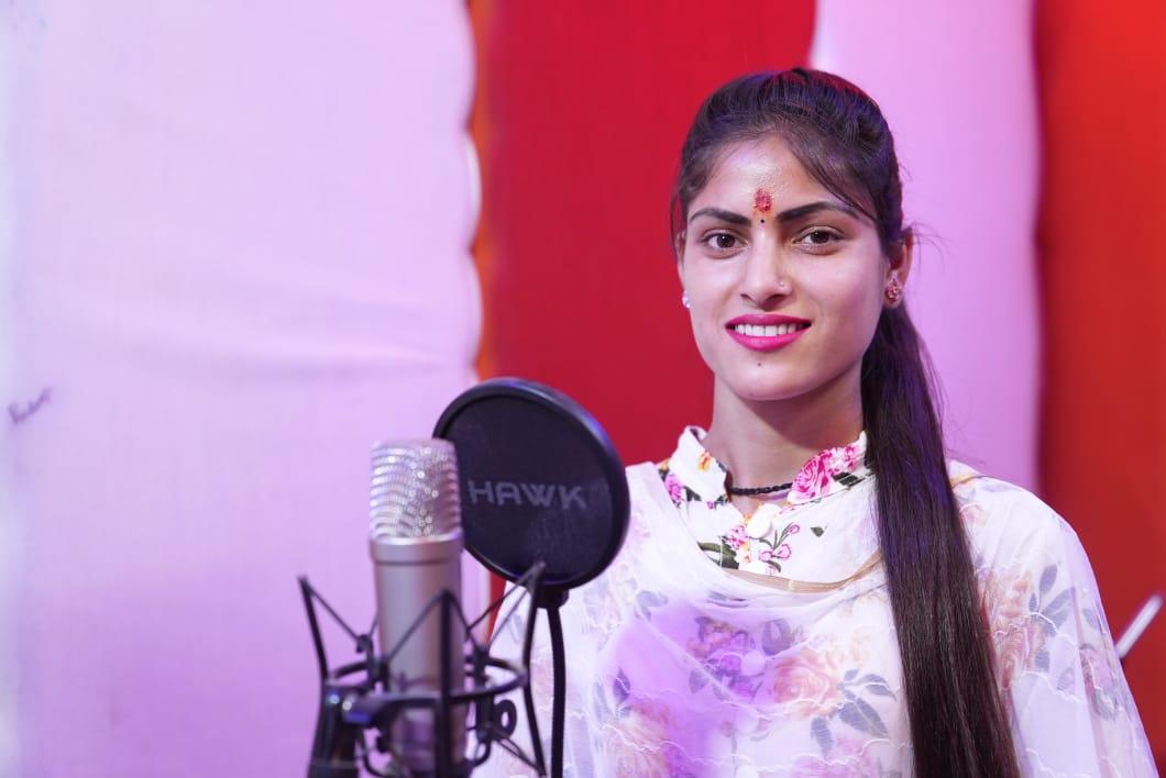 Singer Anisha Ranghar
