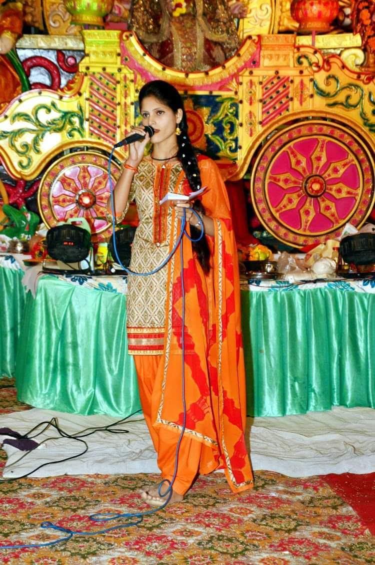 Anisha Ranghar on Stage
