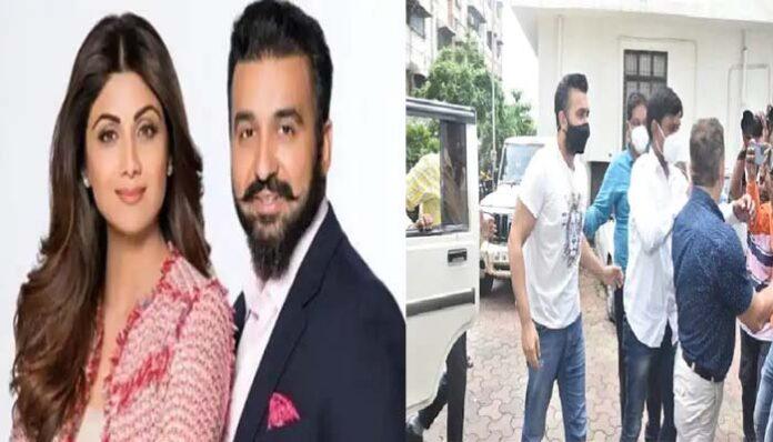 शिल्पा शेट्टी के पति राज कुंद्रा की बढ़ी मुश्किलें, पोर्नोग्राफी केस में हुए गिरफ्तार।