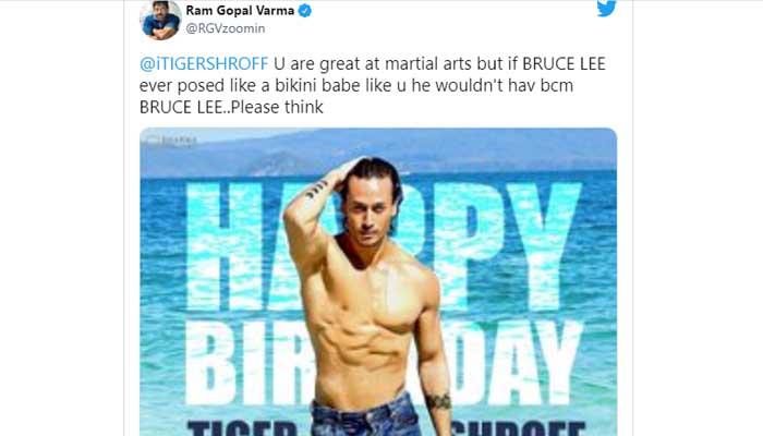 Tiger Shroff was trolled for being called a bikini babe