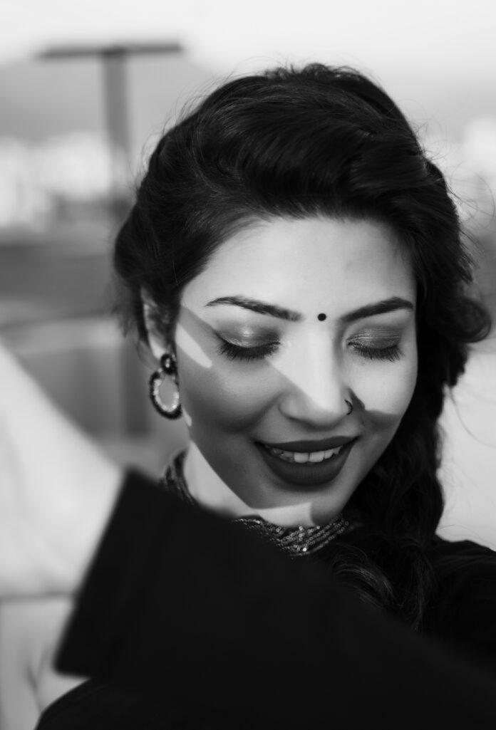 Aisha Siddiqui in Black