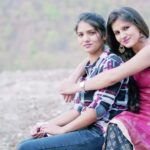 Sonia Joshi with her Friend