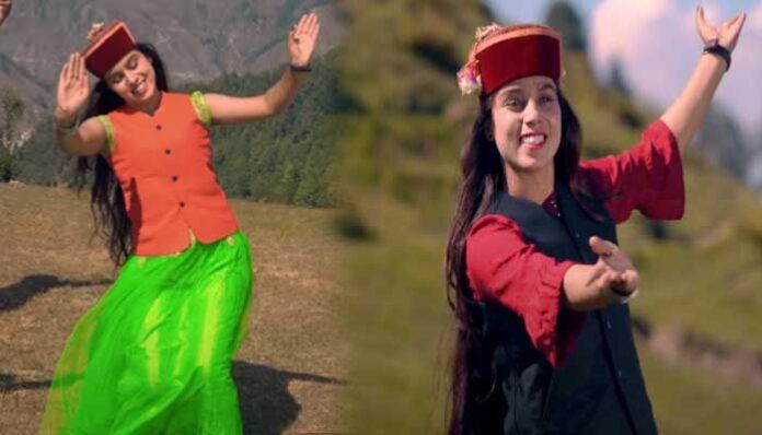 प्रियंका पंवार के हिमाचली गीत बादरे का चल रहा दर्शकों पर जादू,आप भी देखें वीडियो।